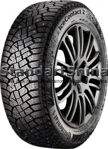 Continental IceContact 2 225/55 R19 103T XL (шип)